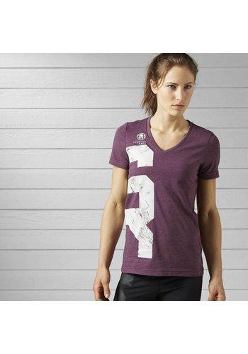 Reebok Reebok Spartan Race T-shirt van gemengd materiaal