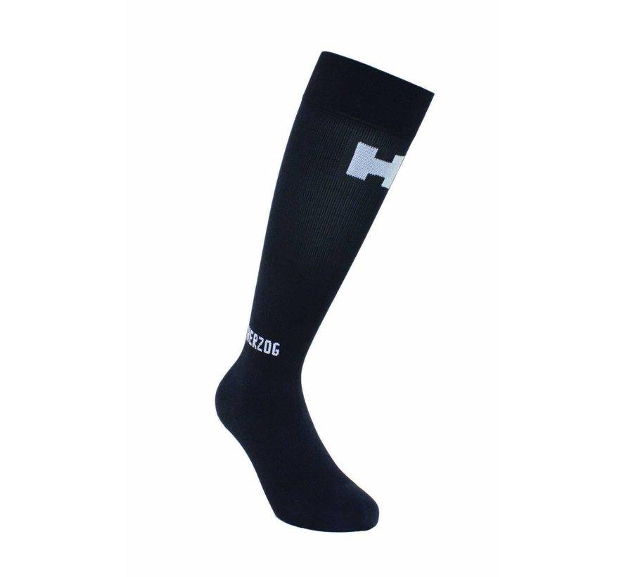 Herzog Compression Socks Pro Black-Silver
