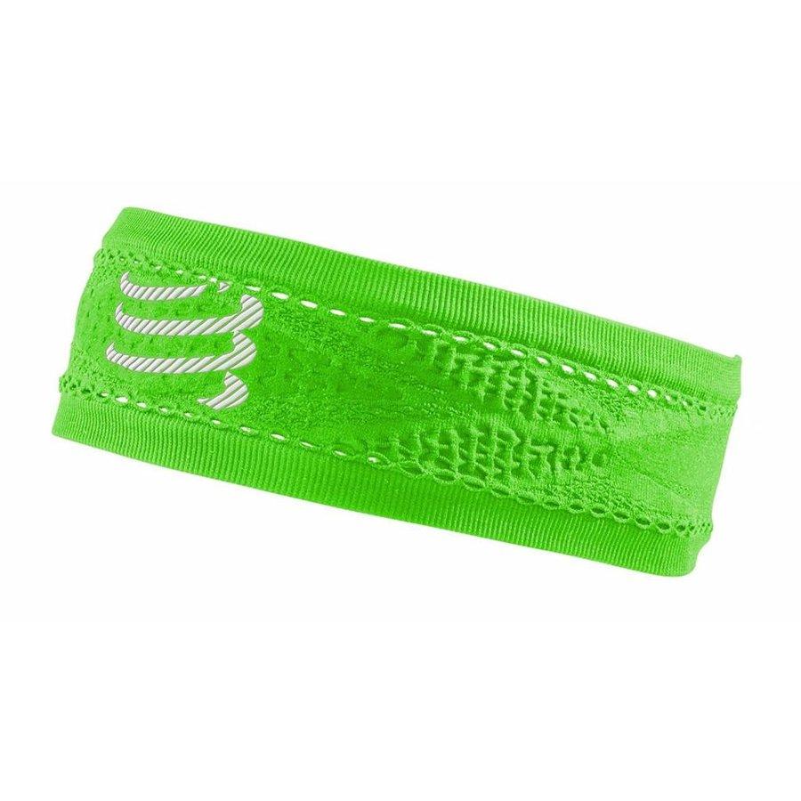 Compressport Narrow Headband On / Off Green