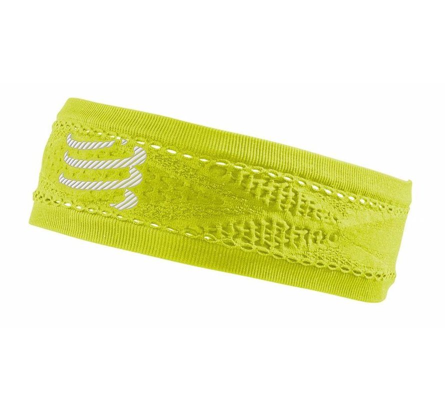 Compressport Narrow Headband On / Off Yellow