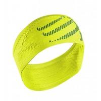 Compressport Stirnband Ein / Aus Gelb
