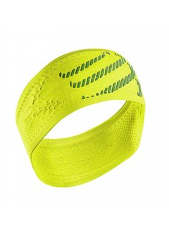 Compressport Compressport Stirnband Ein / Aus Gelb