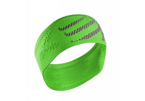 Compressport Stirnband Ein / Aus Grün