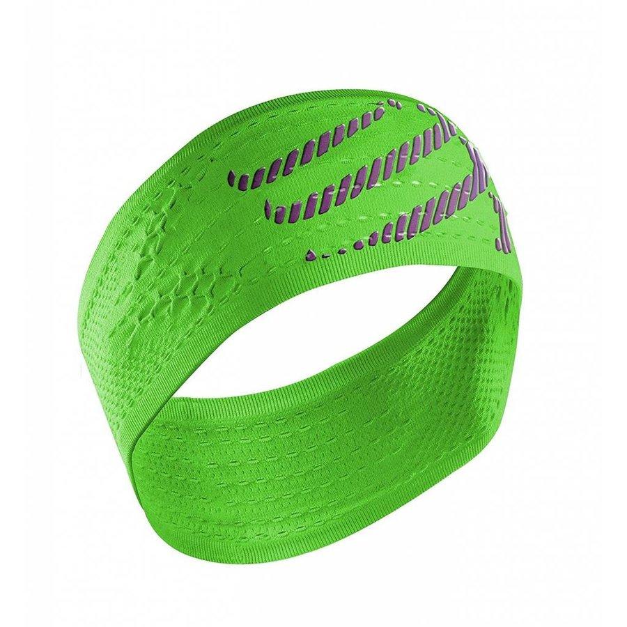 Compressport Headband On/Off Green