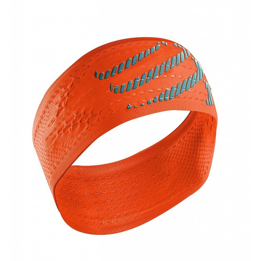 Compressport Stirnband Ein / Aus Orange