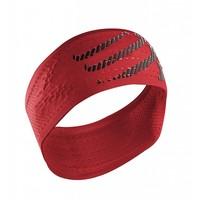 Compressport Stirnband Ein / Aus Rot