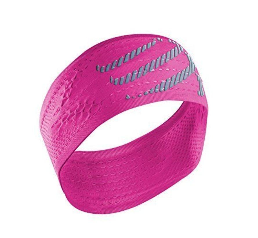 Compressport Stirnband Ein / Aus Pink