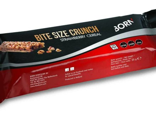 Born BORN Bitesize Crunch Energy Bar (25 Gramm)