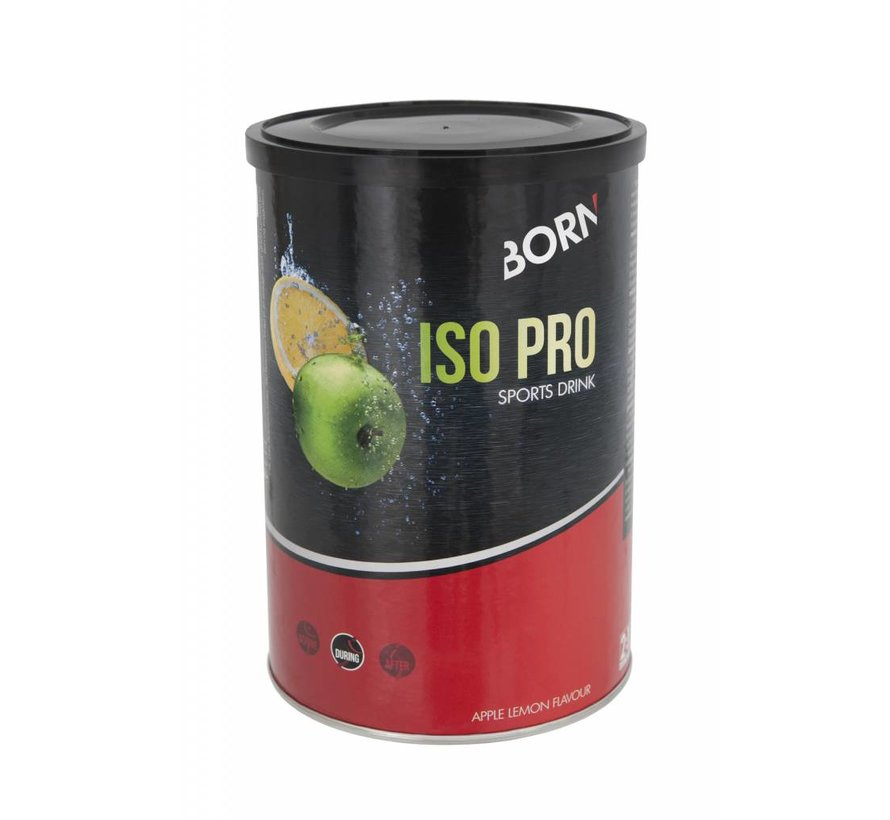 Born Iso Pro Sport Drink apple lemon (400 grams)