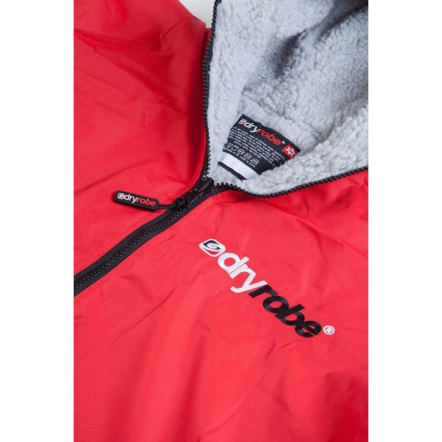 Dryrobe Longsleeve Red-Grey