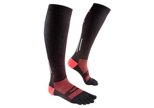 Injinji Compression stockings Lightweight Black