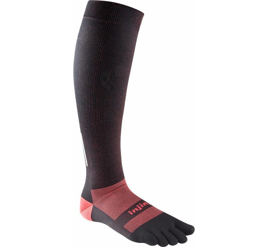 Injinji Compression stockings Lightweight Black
