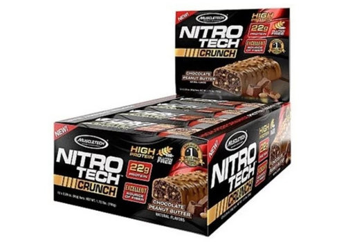 Muscletech Nitrotech Crunch Bar Chocolate Peanut Butter