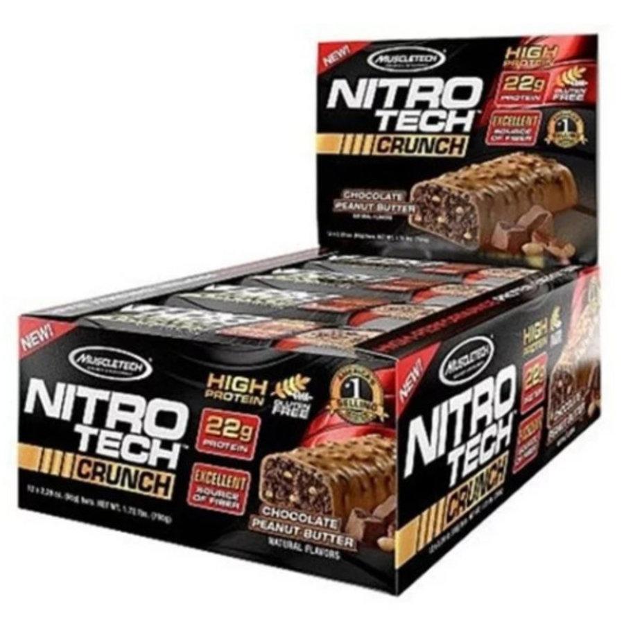 Muscletech Nitrotech Crunch Bar Chocolate Peanut Butter