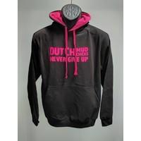 Dutch Mud Chicks Pullover Schwarz-Pink
