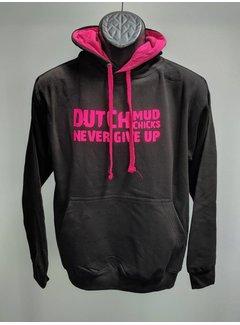 Dutch Mud Men Dutch Mud Chicks Sweater Zwart-Roze
