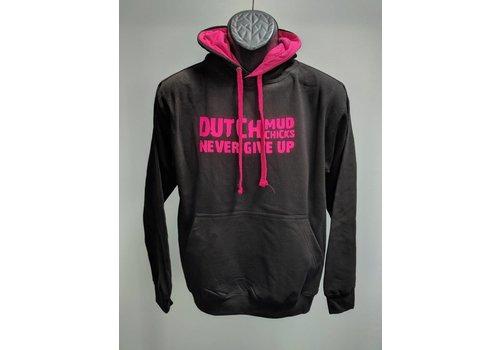 Dutch Mud Chicks Sweater Zwart-Roze