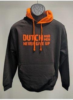 Dutch Mud Men Dutch Mud Men Sweater Schwarz-Orange