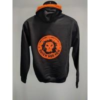 Dutch Mud Men Sweater Schwarz-Orange
