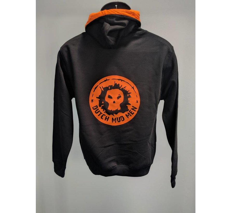 Dutch Mud Men Sweater Black-Orange