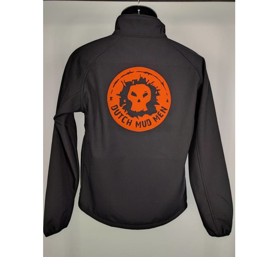 Dutch Mud Men Softshell Schwarz-Orange