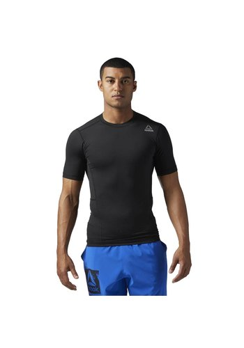 Reebok WORKOUT READY SHORT SLEEVE COMPRESSION TEE