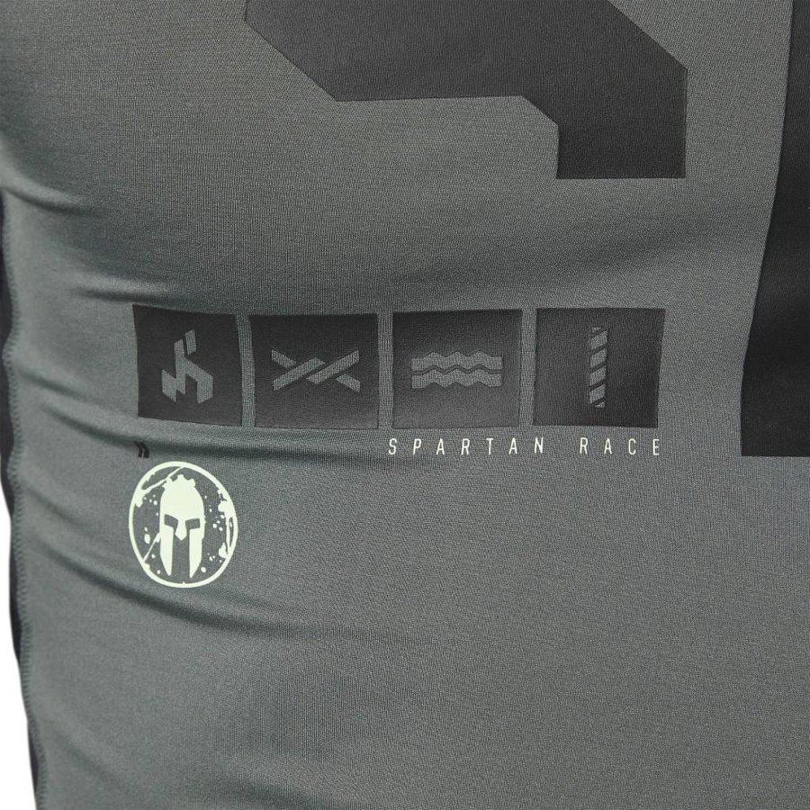 Reebok Spartan Race Longsleeve Compressieshirt Heren