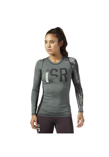 Reebok Reebok Spartan Race Longsleeve Compressieshirt Dames