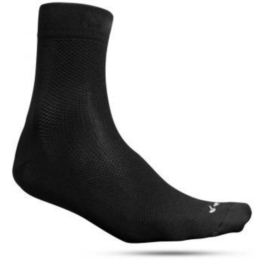 Fusion Race Sock Black - 2 pair