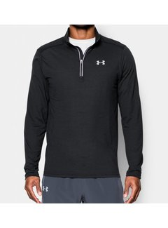 Under Armour Herenshirt Threadborne™ Streaker Run met korte rits