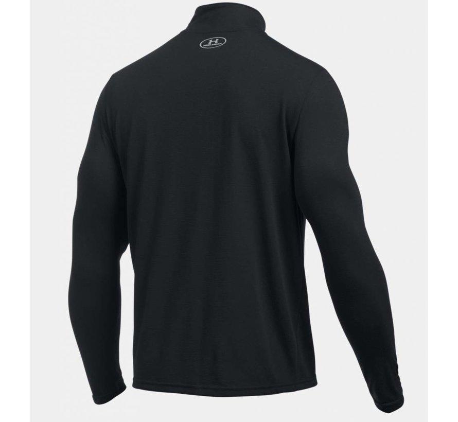 Herrenhemd Threadborne ™ Streaker Laufen mit kurzem Reißverschluss