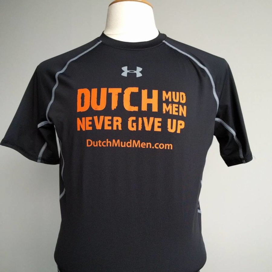 Dutch Mud Men Raceshirt Black