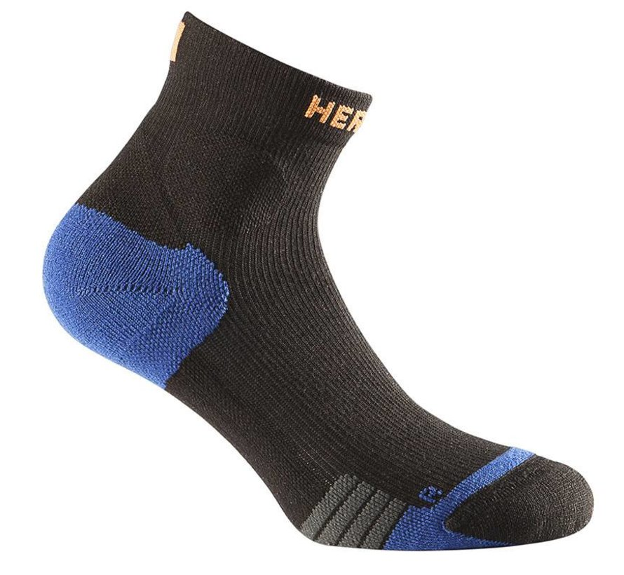 Herzog compression ankle socks black