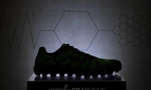 Inov-8 in de voorhoede van een revolutie van sportschoenen met grapheen