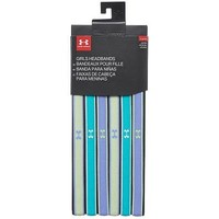 Under Armour Girls Mini headbands (6-pack) Green