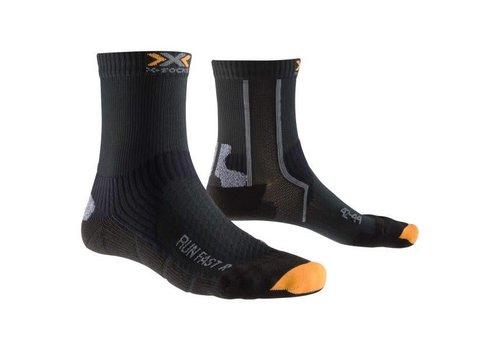 X-Socks Run Fast Black