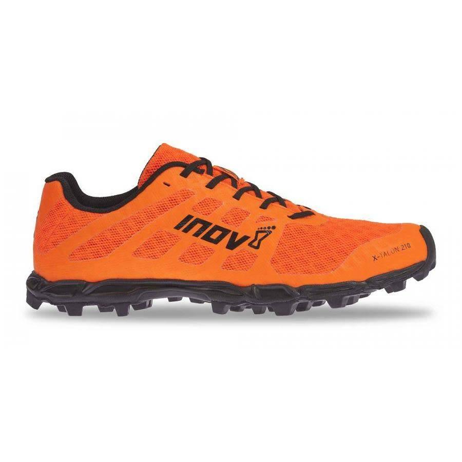 Orange, Inov-8 X Chaussures Pour Les Hommes-talon
