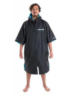 Dryrobe Dryrobe Shortsleeve Zwart-Blauw