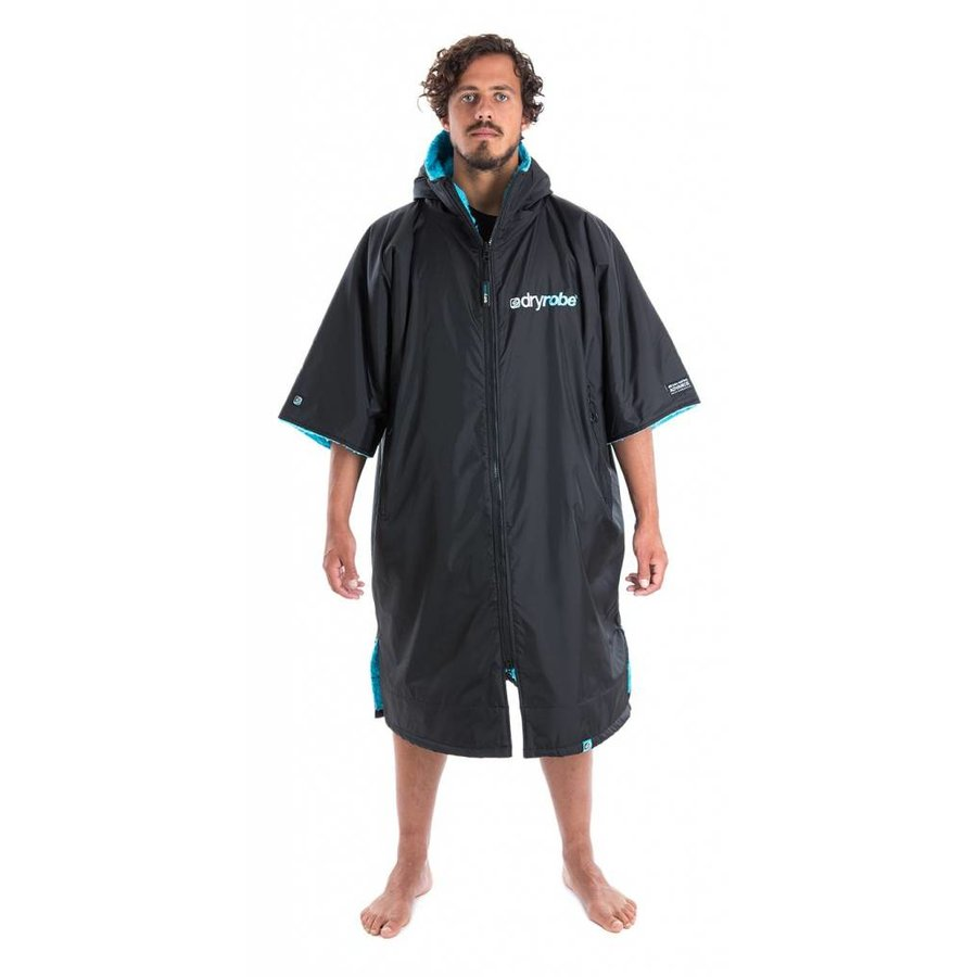 Dryrobe Shortsleeve Black-Blue