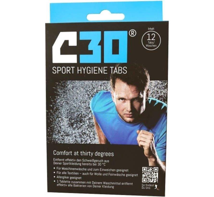 C30 Sport Hygiene Tabs Sport Detergent (12 pieces)