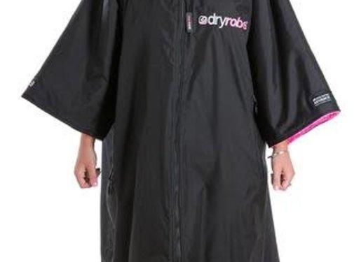 Dryrobe Dryrobe Shortsleeve Zwart-Roze