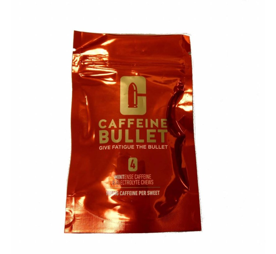 Caffeine Bullet (4 stuks)