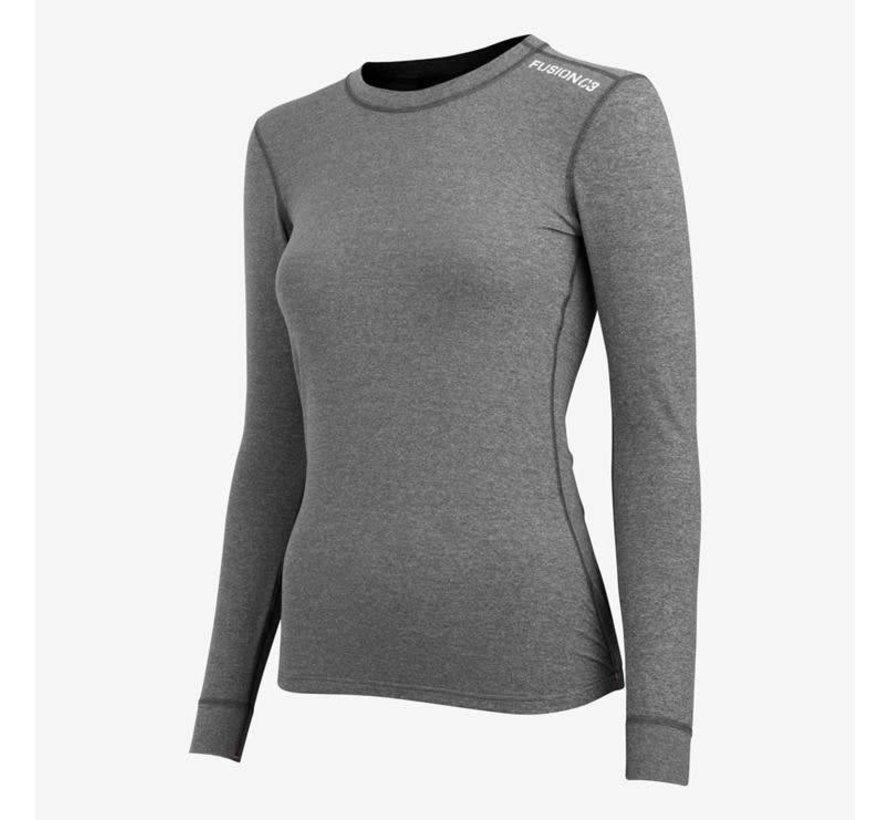 Fusion C3 Sweatshirt Greymelange Women