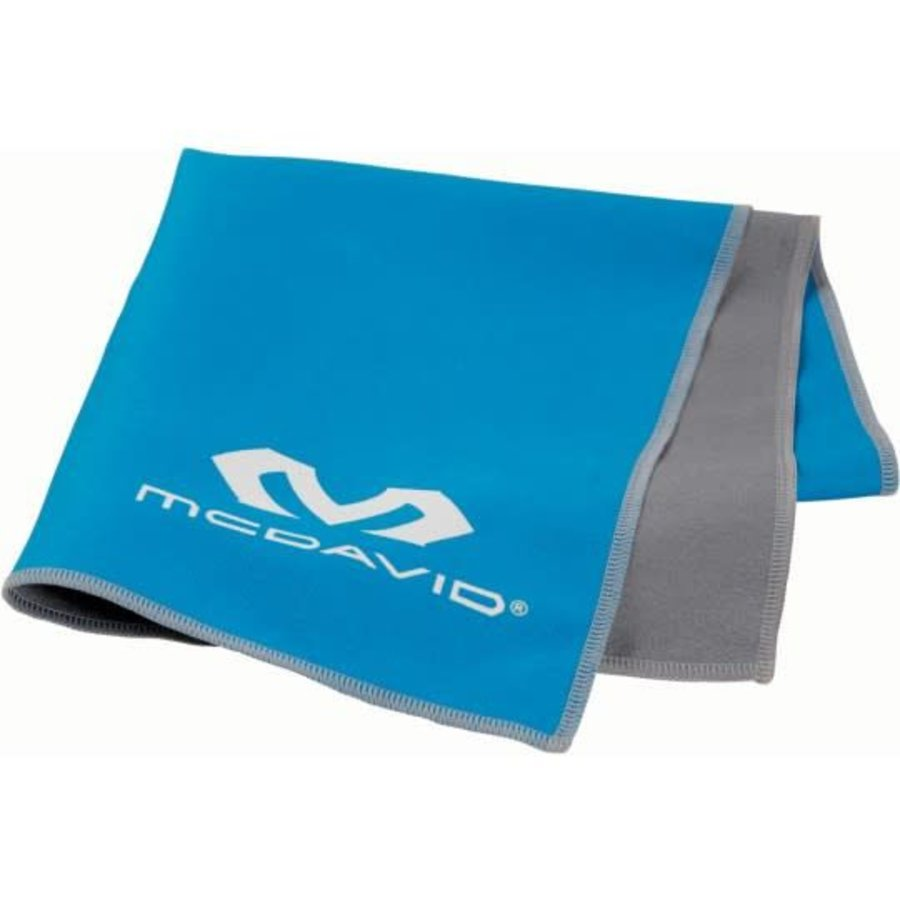 McDavid uCool Cooling Towel Neon Blue