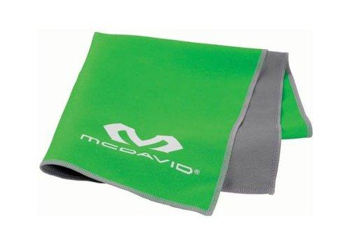McDavid uCool Cooling Handdoek Neongroen