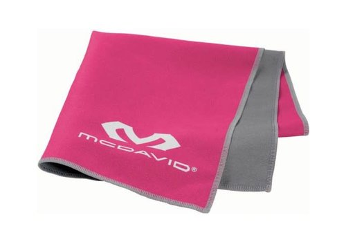 McDavid uCool Cooling Handtuch Neon pink