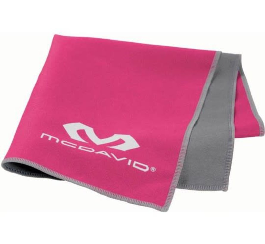 McDavid uCool Cooling Towel Neon pink
