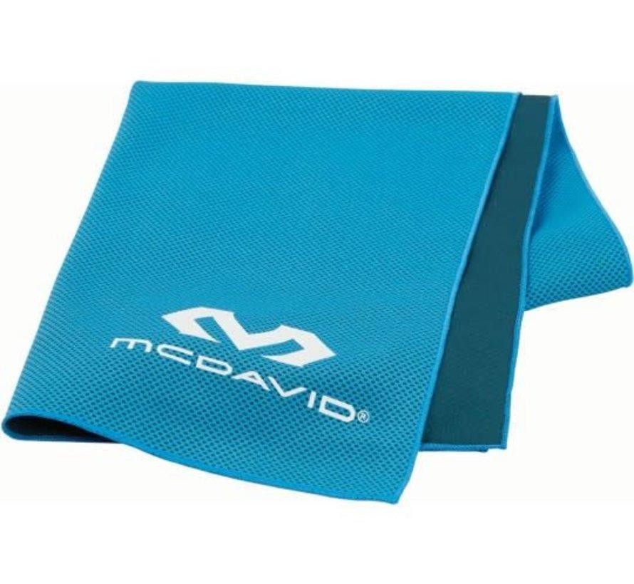 McDavid uCool Ultra Cooling Handtuch Neon Blau