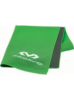 McDavid McDavid uCool Ultra Cooling Towel Neongroen