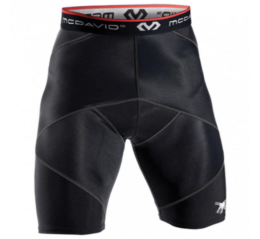 McDavid Cross Compression Shorts Men Black